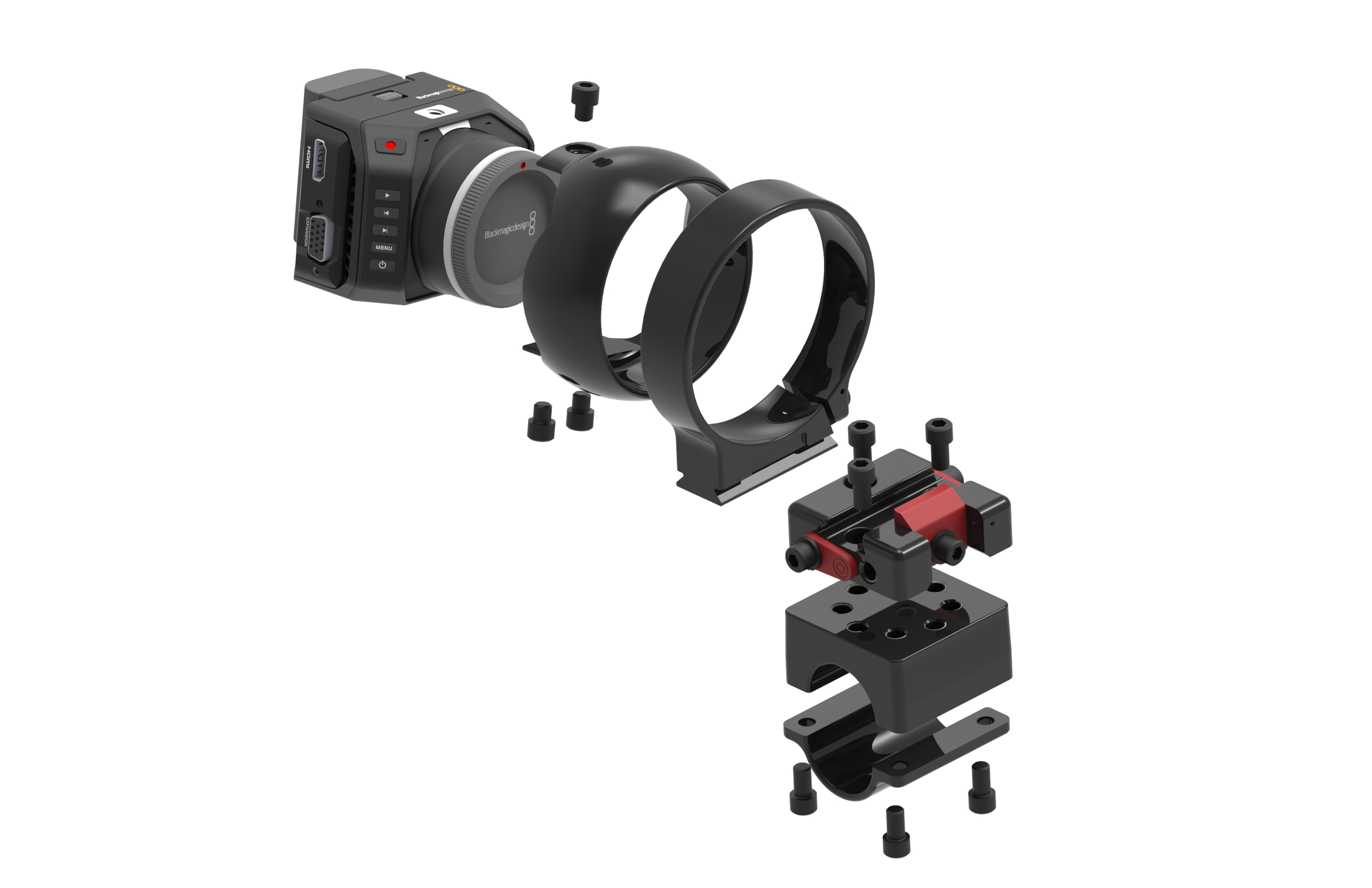 PEOVI Black Magic camera mount